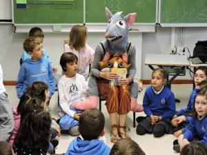 celebración del Día del Libro en el Deutsche Schule San Alberto Magno de San Sebastián, colegio aleman