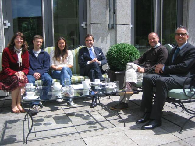 Besuch beim spanischen Botschafter