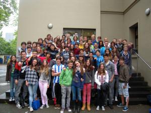 Gruppenfoto Spanier und Deutsche