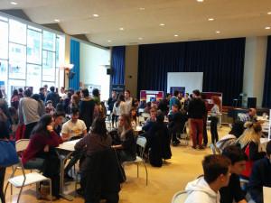 Die Studienmesse in der Aula Magna der DS Bilbao