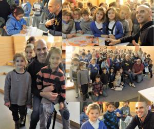 Richard Oribe en el Deutsche Schule San Alberto Magno, colegio concertado, educación en valore