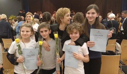 colegio aleman, Deutsche Schule San Alberto Magno, San Sebastián, colegio concertado, Jugend Musiziert 2018