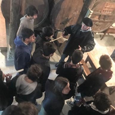 colegio aleman, Deutsche Schule San Alberto Magno, visita caserío Katxola