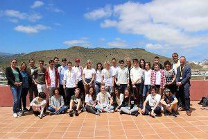 participantes Jugend Debattiert Gran Canaria