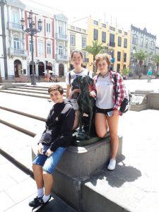 alumnado deutsche schule san alberto magno final jugend debattiert gran canaria