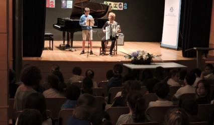 dueto en el dia de la musica del Deutsche Schule