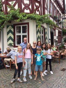 alumnado del Deutsche Schule en su viaje de intercambio a Hürth