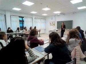 charla del EIB sobre la Bolsa en el Deutsche Schule San Alberto Mango