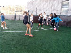 jornada deportiva con el alumnado de intercambio de Hürth, #DeutscheSchuleSAM