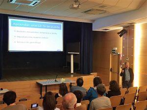 conferencia de Manuel Carreiras en Deutsche Schule de San Sebastián