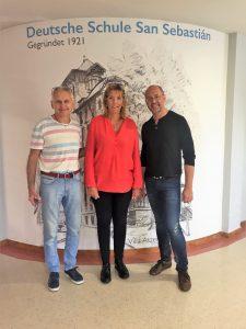 visita al colegio alemán de San Sebastián