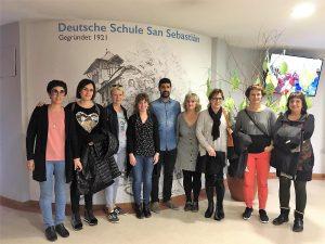 Visita Deutsche Schule San Alberto Magno Ikastolaren Elkartea y Andra Mari Ikastola
