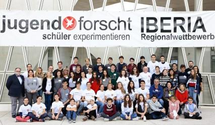 Participantes del concurso Jugend Forscht 2018