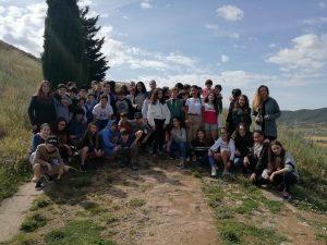 alumnado de 1º ESO del Deutsche Schule visita ruinas romanas