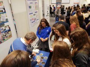 alumnado de 4º ESO del #DeutscheSchuleSAM en Jornadas Científicas