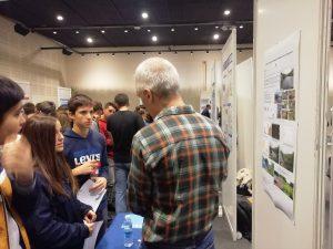 alumnado de 4º ESO del #DeutscheSchuleSAM visita las Jornadas Científicas