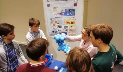 alumnado de 4º ESO del #DeutscheSchuleSAM participa en las Jornadas Científicas