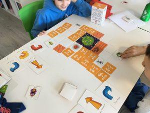 jugando con las matemáticas en el Deutsche Schule San Sebastián