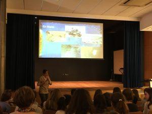 Charla de Silvia Bonoli en el Deutsche Schule