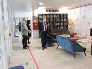 Visitando las instalaciones del DSSAM