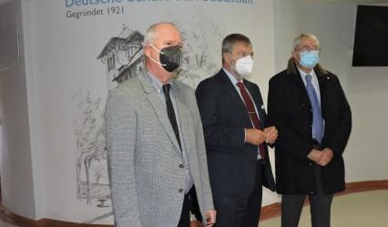 Manfred Zierott, Wolfgang Dold y Paul Schröder